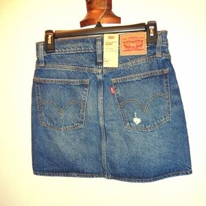 Levi's Deconstructed Skirt NWT Size 2